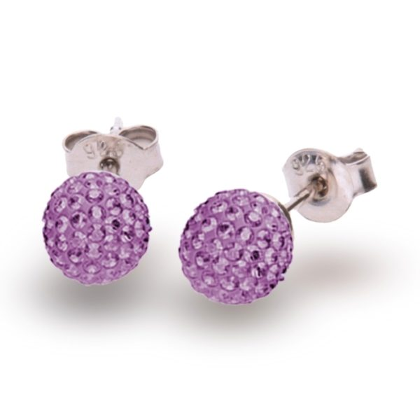 Silver earrings with Swarovski® crystals Code: K860016AM