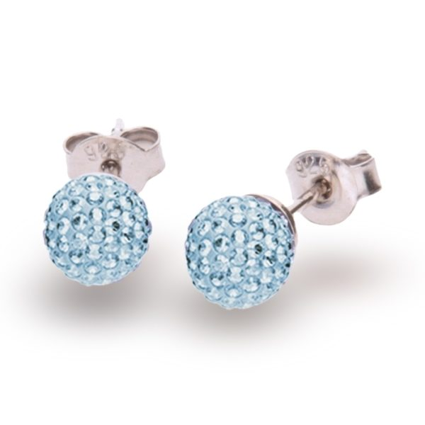 Silver earrings with Swarovski® crystals Code: K860016AQ
