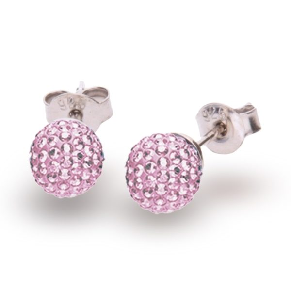 Silver earrings with Swarovski® crystals Code: K860016LR