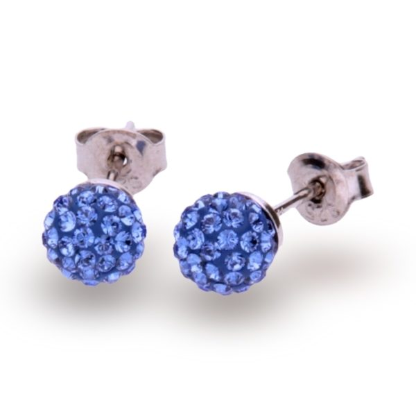 Silver earrings with Swarovski® crystals Code: K860016SA