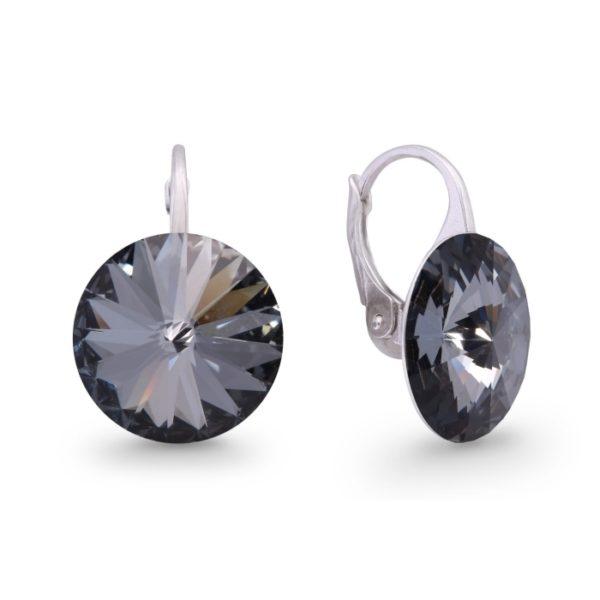 Silver earrings with Swarovski® crystals Code: KA112214SN