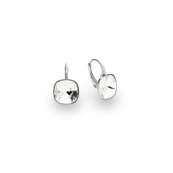 Silver earrings with Swarovski® crystals Code: KA447010C