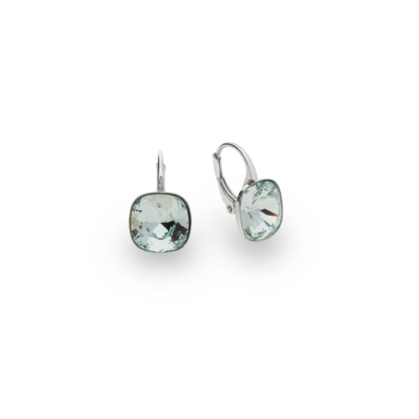 Silver earrings with Swarovski® crystals Code: KA447010LAZ