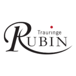Rubin wedding rings - wedding bands