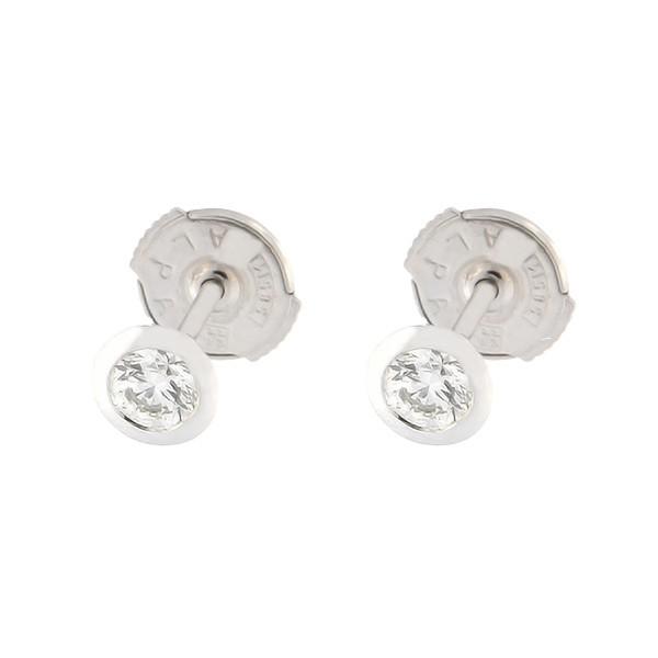 Kullast kõrvarõngad teemantiga 0,31 ct. Kood: 30ak