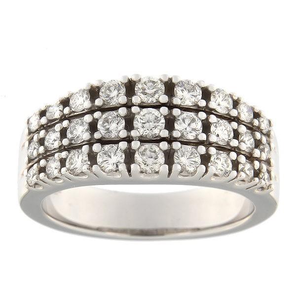 Kullast sõrmus teemantidega 0,97 ct. Kood: 61ab