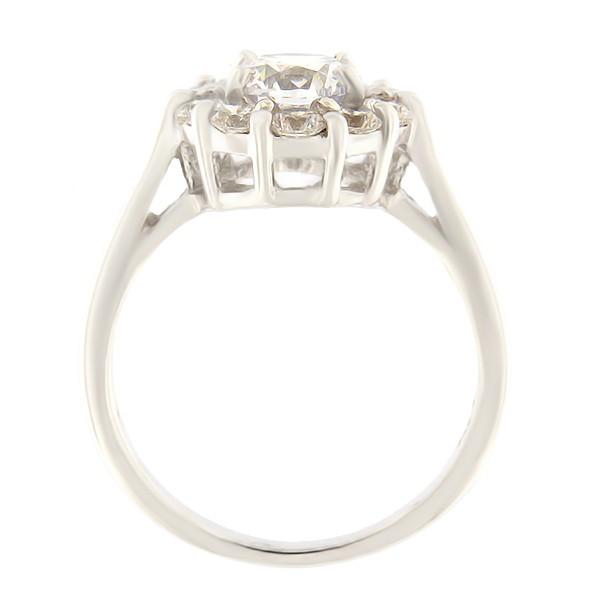 Hõbedast sõrmus Gioialite kividega Kood: AN1364-RO-DD külgvaade