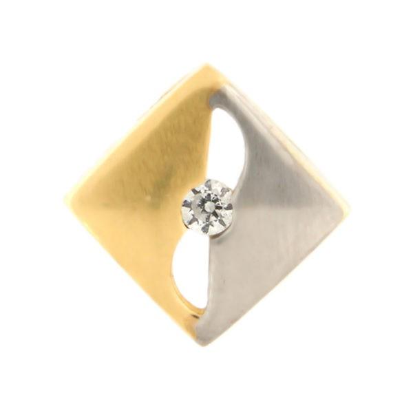 Kullast ripats tsirkooniga Kood: 33WP827