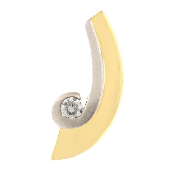 Kullast ripats tsirkooniga Kood: 61WP760