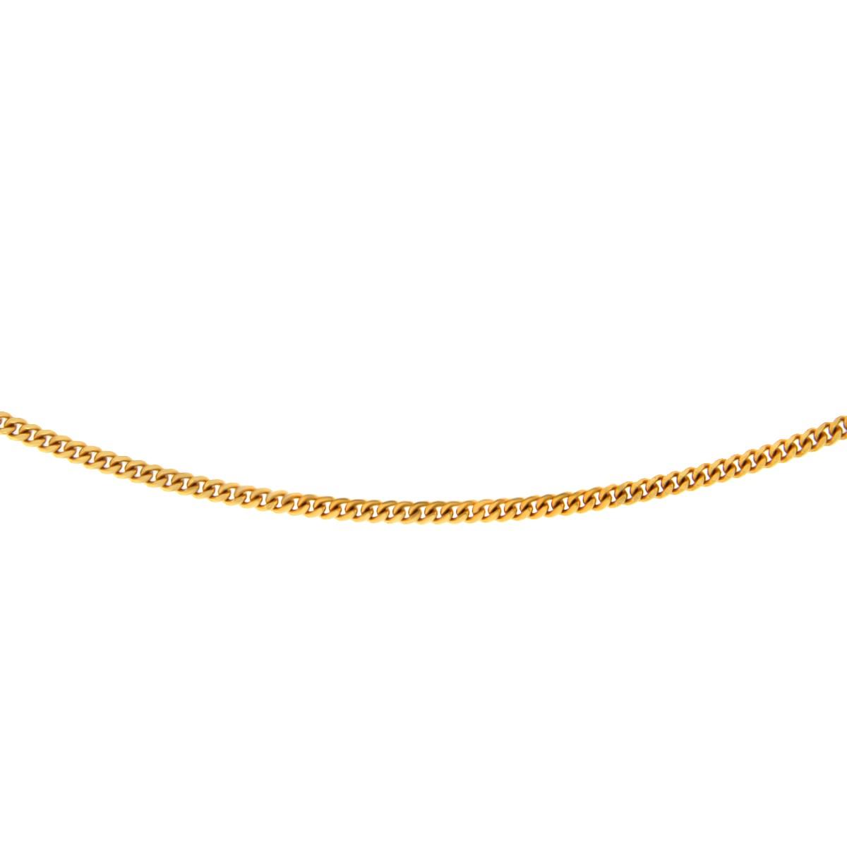 Kullast kaelakett Kood: 2lg