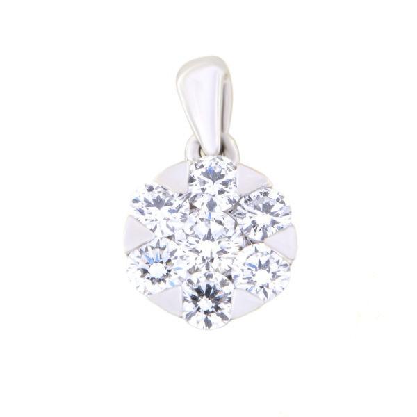 Kullast ripats teemantidega 0,49 ct. Kood: 49al
