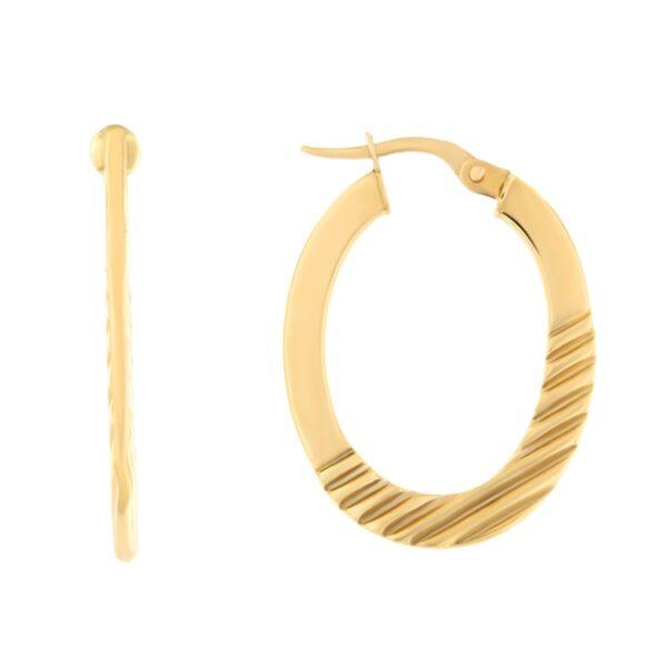 Kullast kõrvarõngad Kood: 25tl