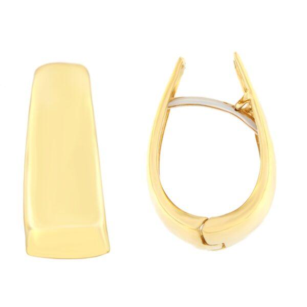 Kullast kõrvarõngad Kood: m01/176088