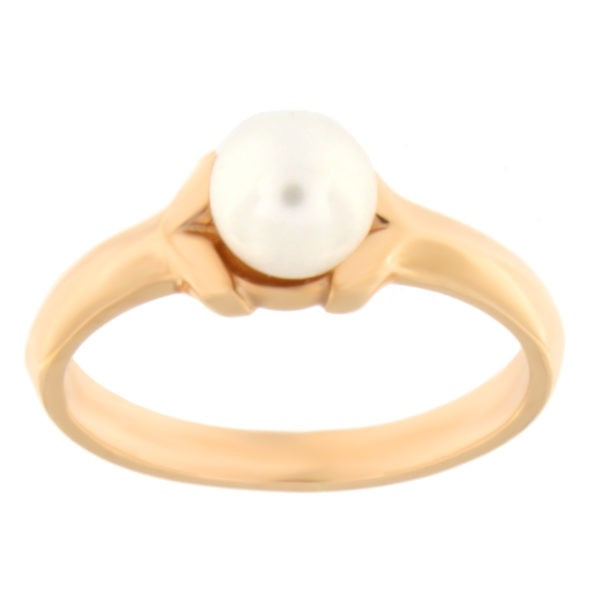 Kullast sõrmus pärliga Kood: 00023312j