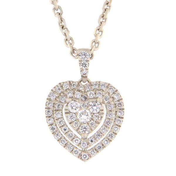 Kullast ripats teemantidega 0,50 ct. Kood: 60he