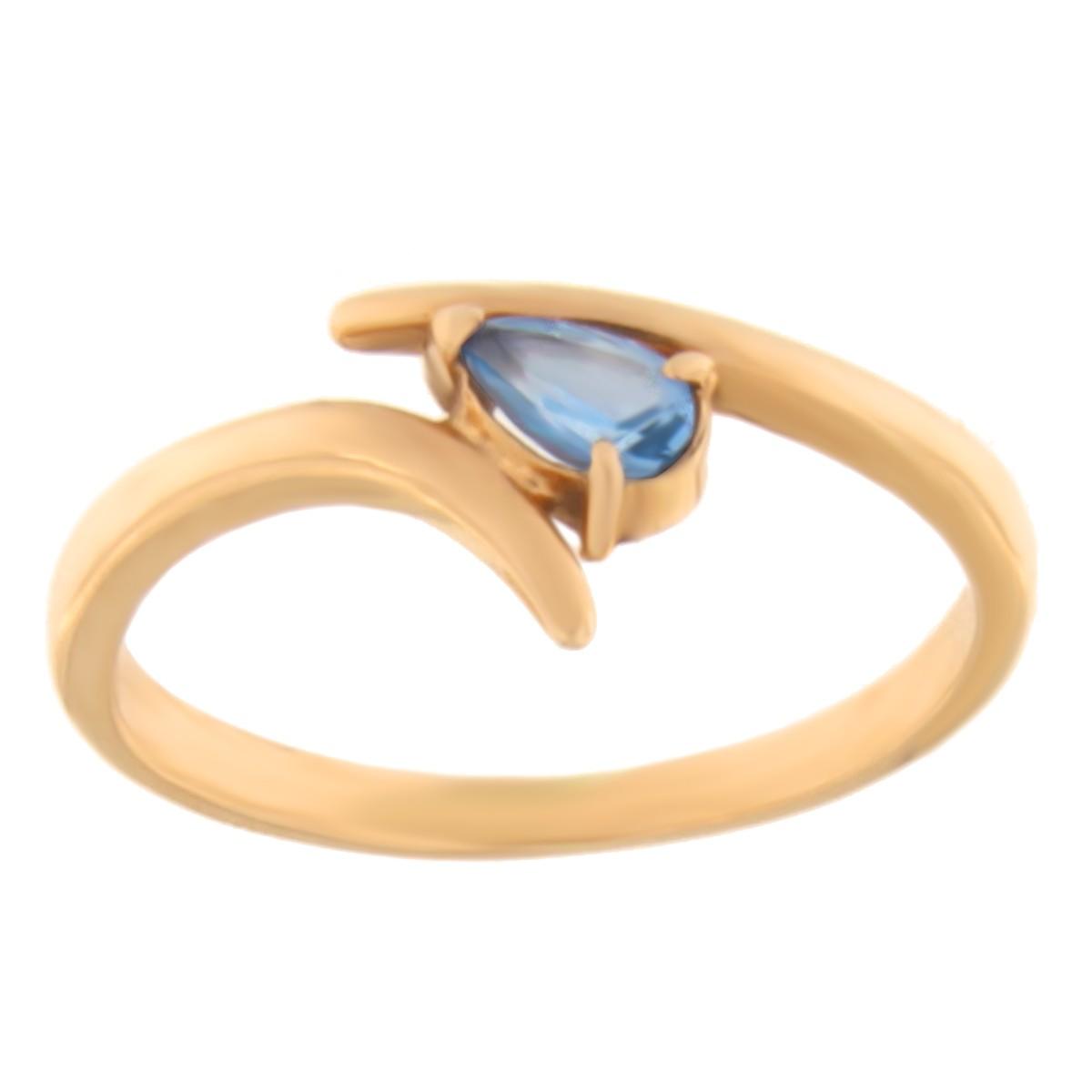 Kullast sõrmus tsirkooniga Kood: 03022309j