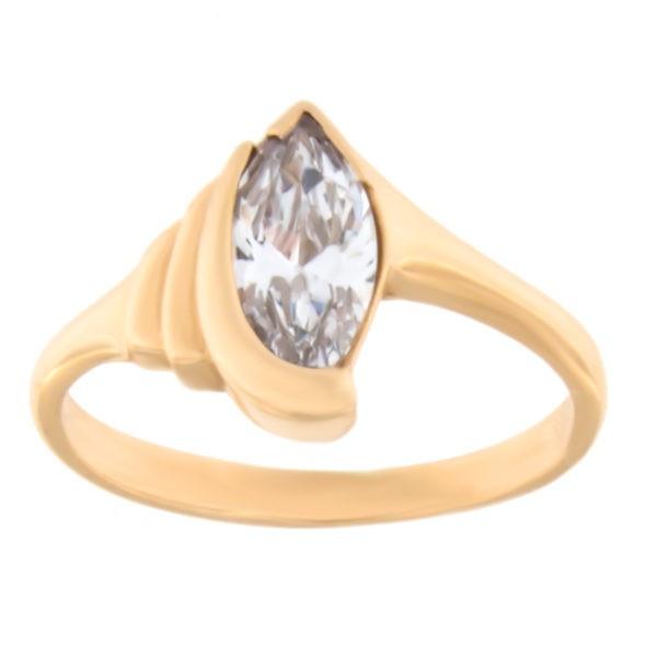 Kullast sõrmus tsirkooniga Kood: 03022474j