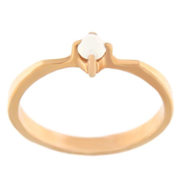 Kullast sõrmus opaaliga Kood: 283pk