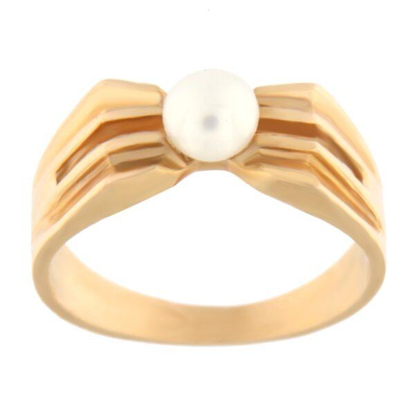 Kullast sõrmus pärliga Kood: 397p