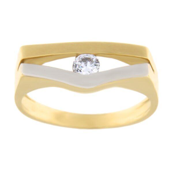 Kullast sõrmus tsirkooniga Kood: 434wp
