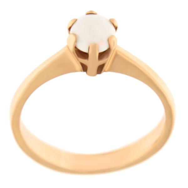 Kullast sõrmus opaaliga Kood: 57pk
