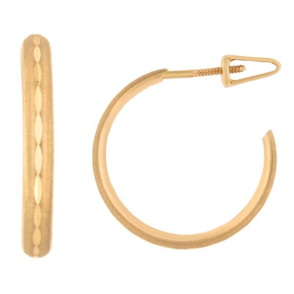 Kullast kõrvarõngad Kood: er0133-20