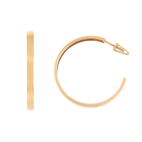 Kullast kõrvarõngad Kood: er0127-30