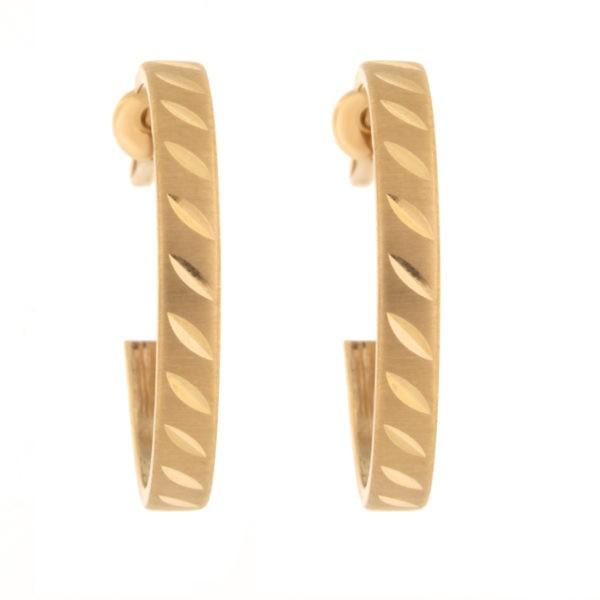 Kullast kõrvarõngad Kood: er0128-20