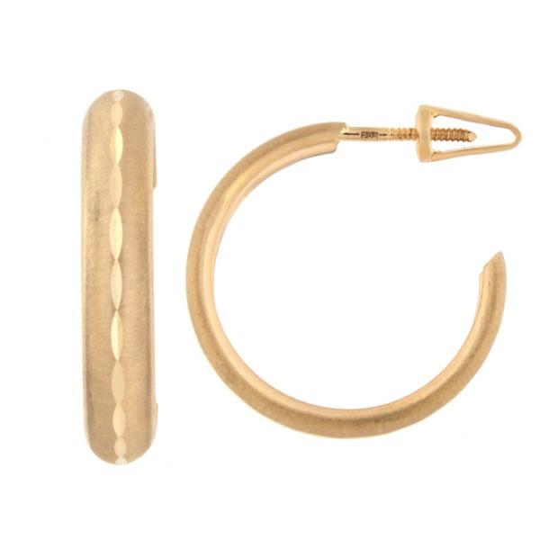 Kullast kõrvarõngad Kood: er0131-20
