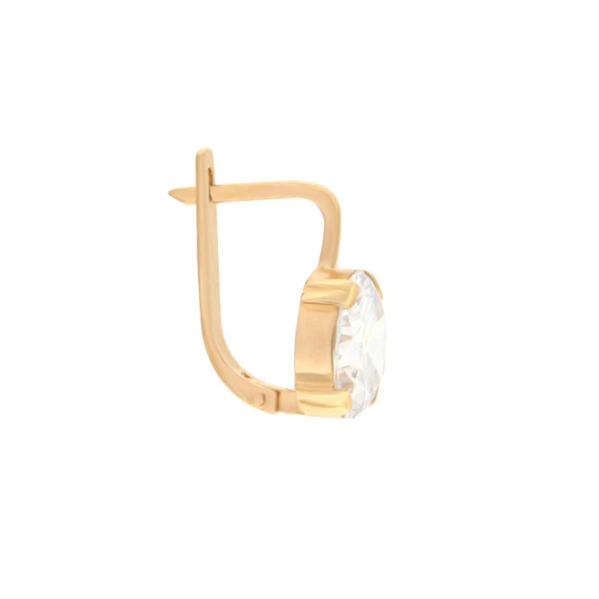 Kullast kõrvarõngad tsirkoonidega Kood: er0136-i-valge