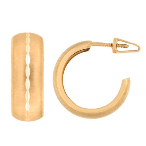 Kullast kõrvarõngad Kood: er0141-15