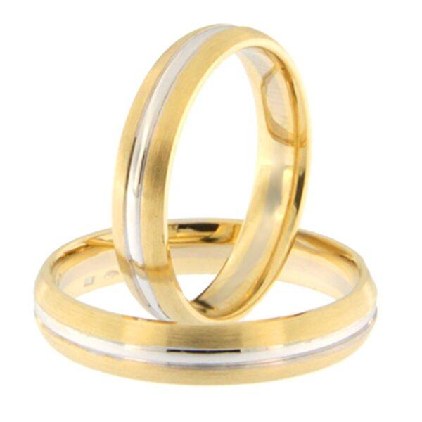 Kullast abielusõrmus Kood: GD413