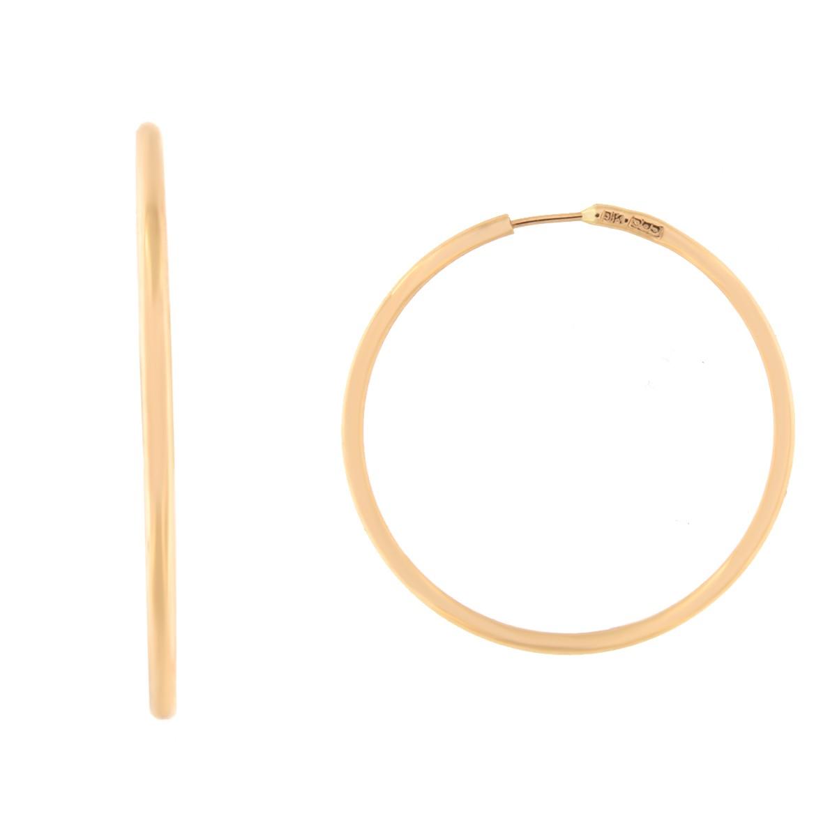 Kullast kõrvarõngad Kood: 15i