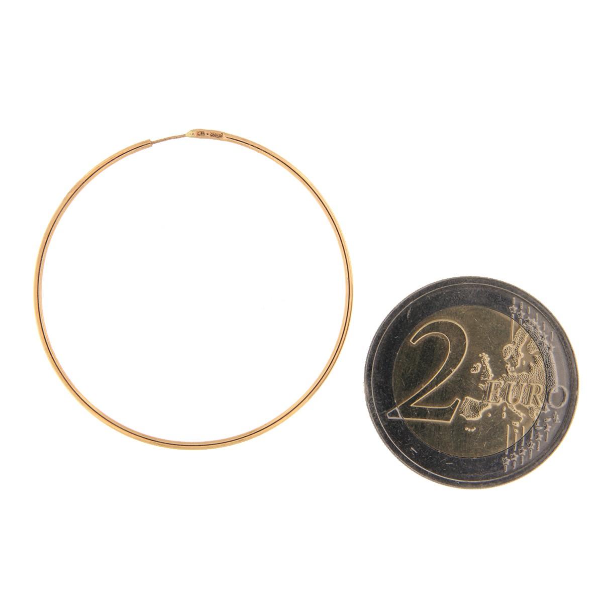 Kullast kõrvarõngad Kood: 18i