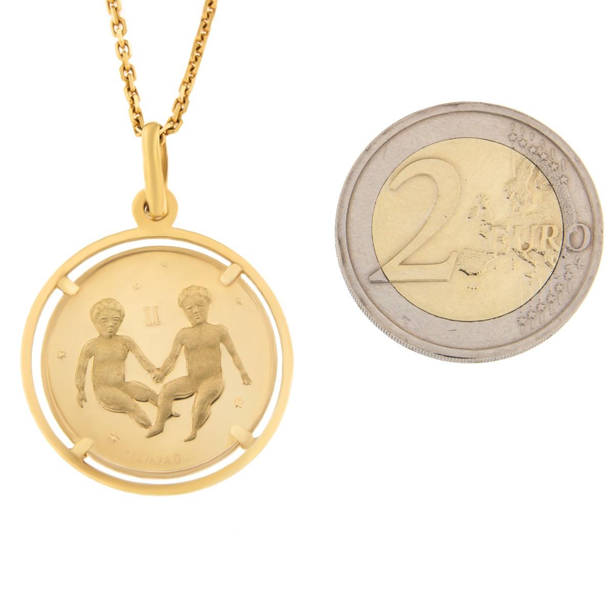 Kullast ripats, sodiaagimärk Kood: 238ce-kaksikud