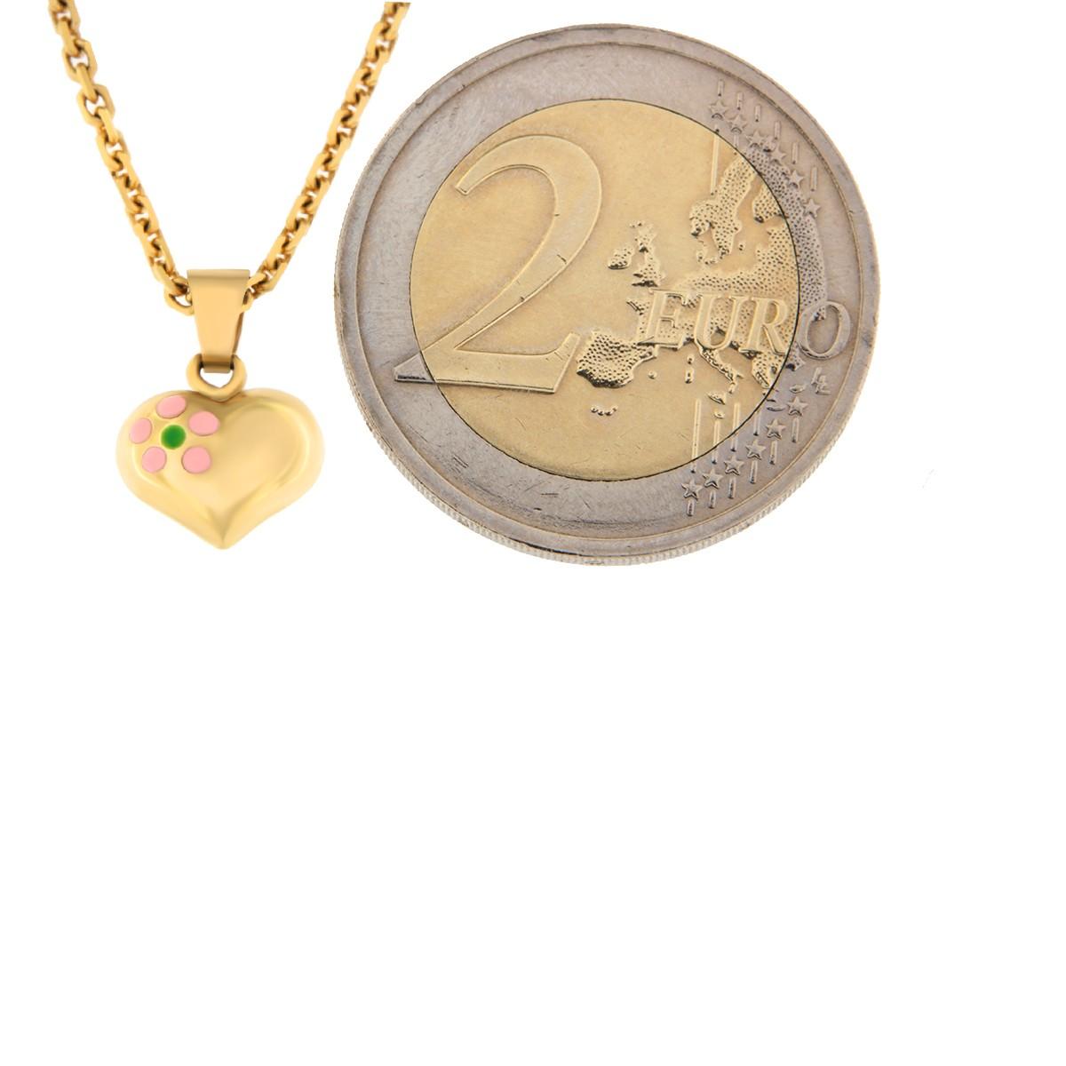 Kullast ripats süda Kood: 40ct
