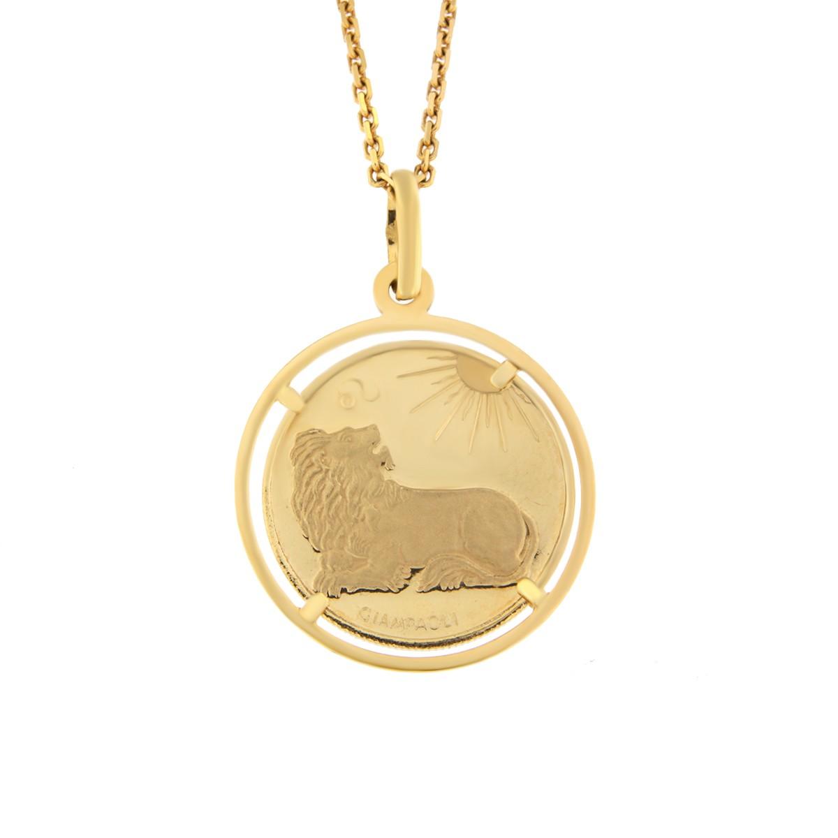 Kullast ripats, sodiaagimärk Kood: 238ce-lõvi