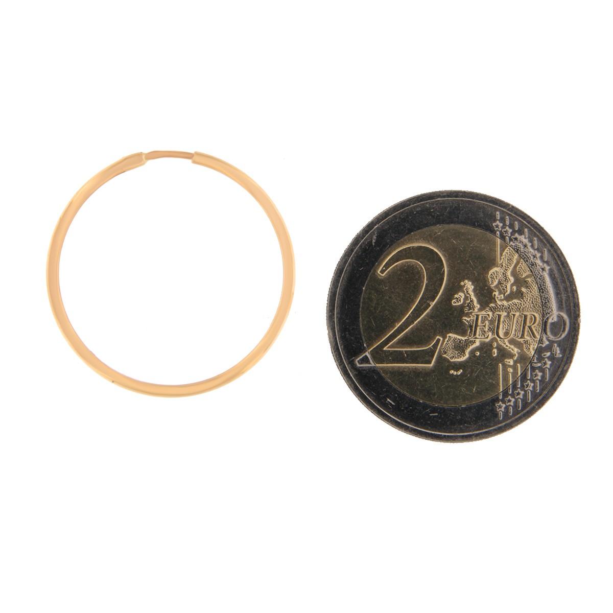 Kullast kõrvarõngad Kood: 23i