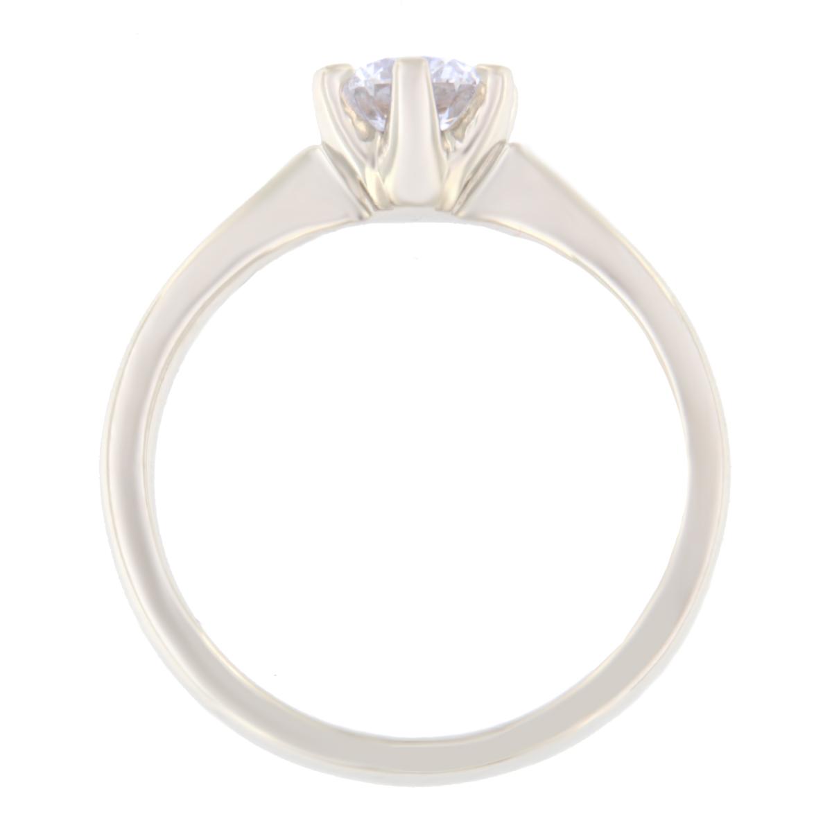 Kullast sõrmus teemantiga 0,55 ct. Kood: 20ae