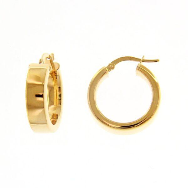Kullast kõrvarõngad Kood: 225201