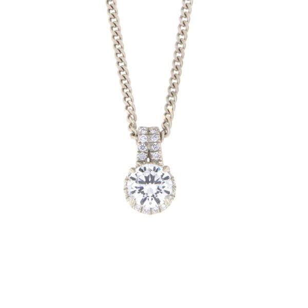 Kullast ripats teemantidega 0,60 ct. Kood: 179ae