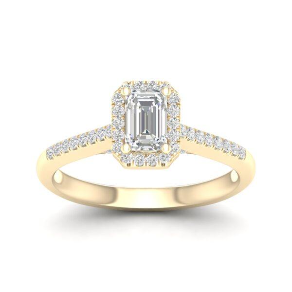 Kullast sõrmus teemantidega Kood: 74hc