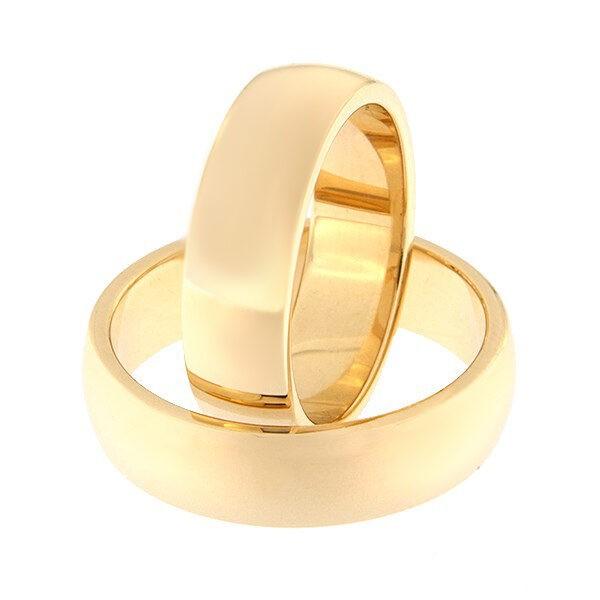 Kullast abielusõrmus Kood: Rn0116-6-paks