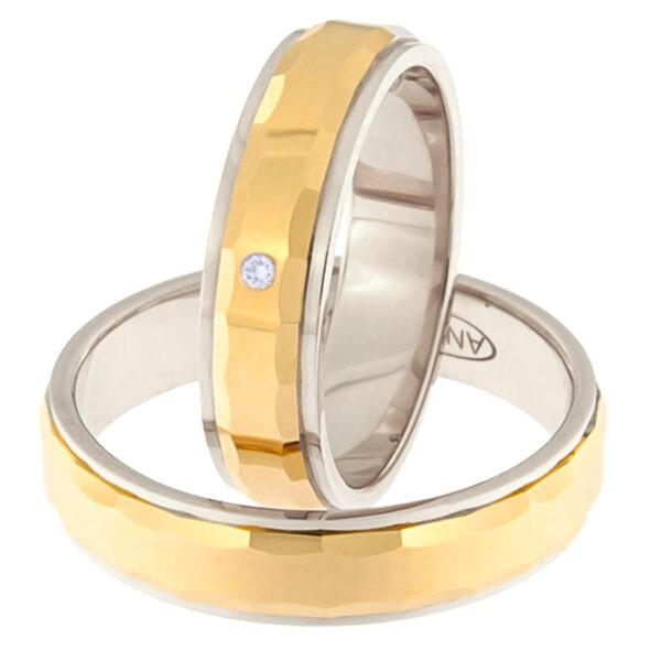 Kullast abielusõrmus Kood: Rn0111-5l-pkl-av-1k