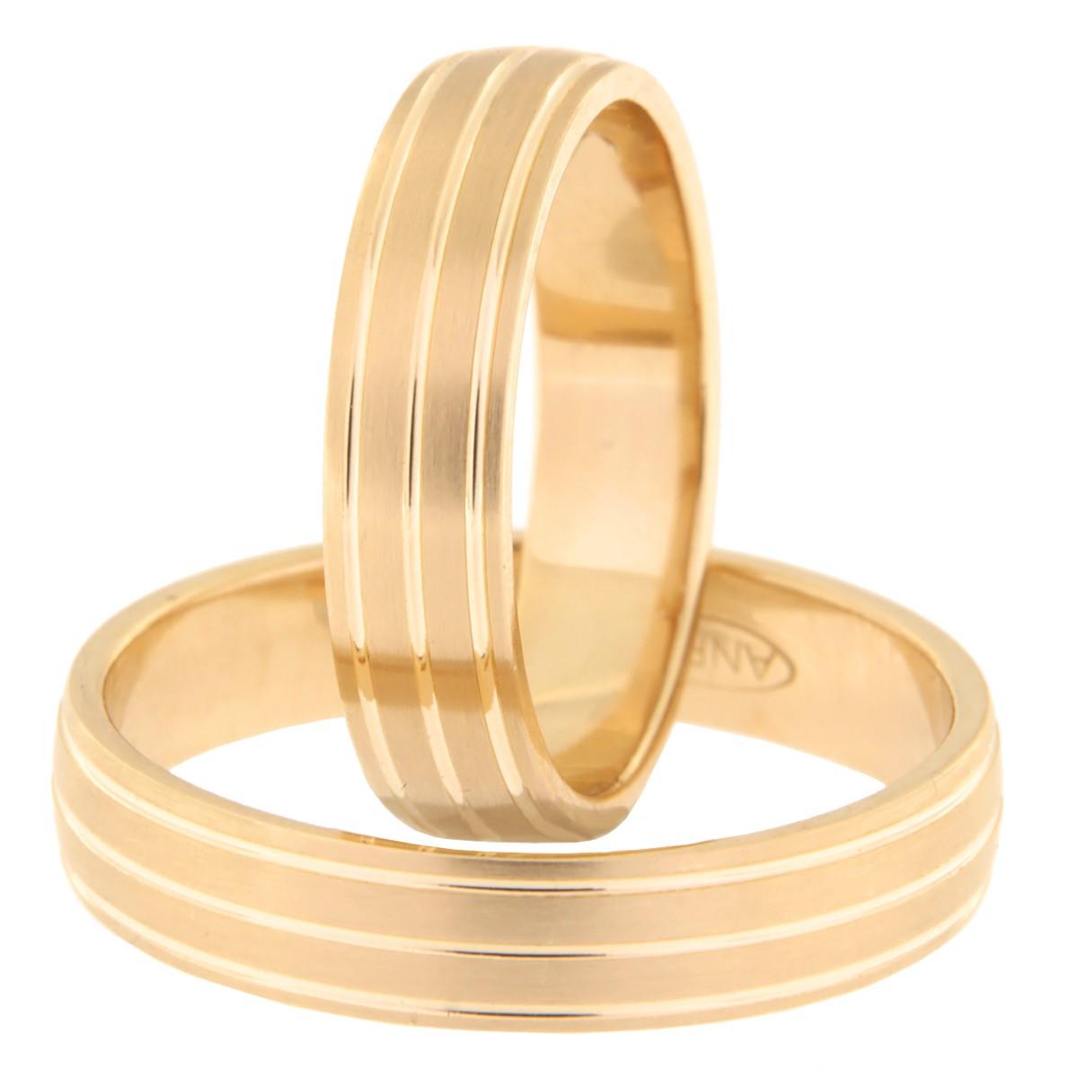 Kullast abielusõrmus Kood: Rn0173-5-km1