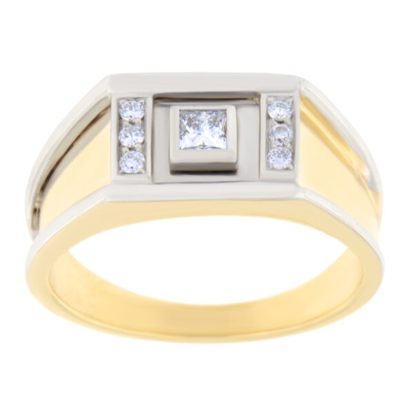 Kullast klotser teemantidega Kood: 1666b